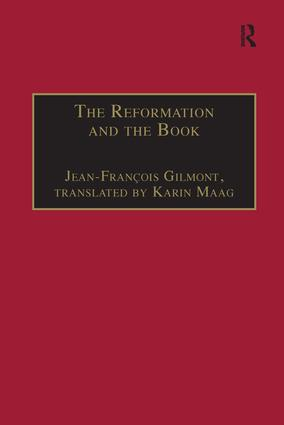 The Reformation and the Book: 1st Edition (Hardback) book cover