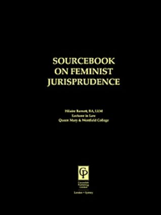 Sourcebook on Feminist Jurisprudence (Paperback) book cover