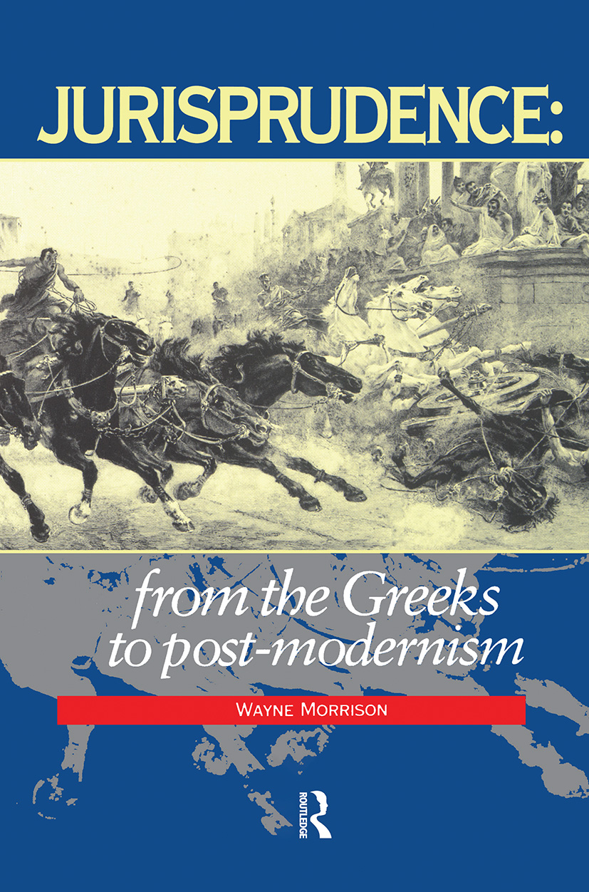 Jurisprudence: From The Greeks To Post-Modernity book cover