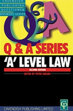'A' Level Law Q&A