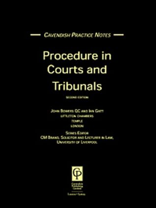 Practice Notes on Procedure In Courts 2/e