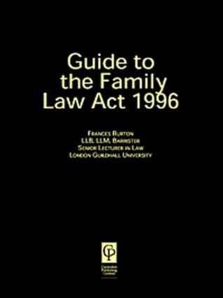 Guide to the Family Law Act 1996