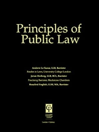 Principles of Public Law 2/e