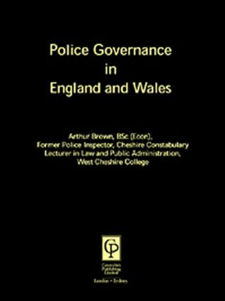 Police Governance In England & Wales