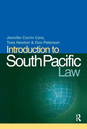 Introduction to South Pacific Law (Paperback) book cover