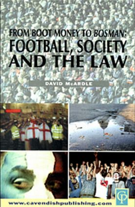 Football Society & The Law (Paperback) book cover