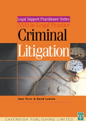 Criminal Litigation & Procedure