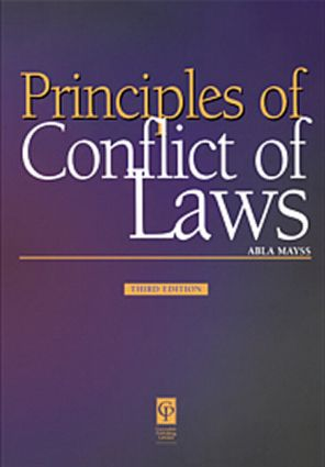 Principles of Conflict of Laws 3/e