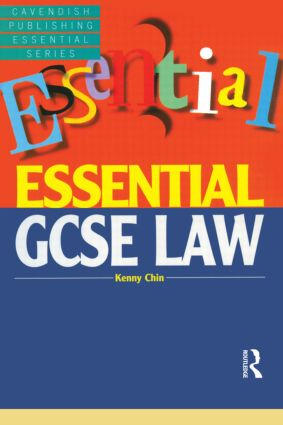 Essential GCSE Law: 1st Edition (Paperback) book cover