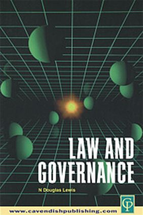 Law and Governance: 1st Edition (Paperback) book cover