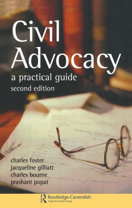 Civil Advocacy: 2nd Edition (Paperback) book cover