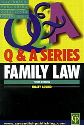 Family Law Q&A book cover