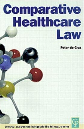 Comparative Healthcare Law: 1st Edition (e-Book) book cover