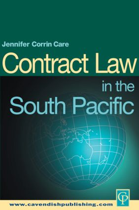 South Pacific Contract Law book cover