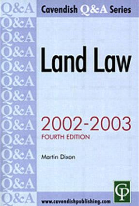 Land Law Q&A book cover