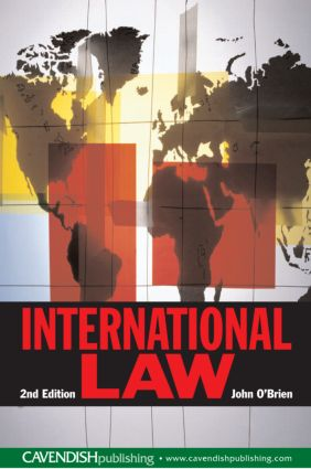 International Law: 1st Edition (Paperback) book cover