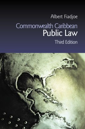 Commonwealth Caribbean Public Law: 3rd Edition (Paperback) book cover