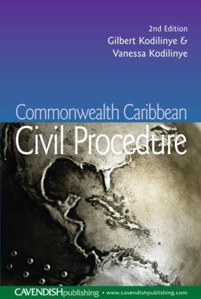 Commonwealth Caribbean Civil Procedure book cover