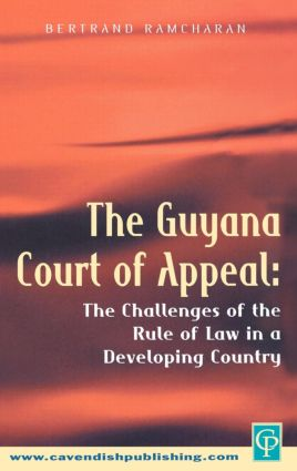 The Guyana Court of Appeal (Hardback) book cover
