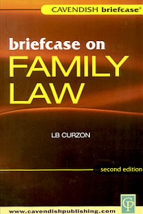 Briefcase on Family Law: 1st Edition (Paperback) book cover