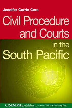 Civil Procedure and Courts in the South Pacific book cover