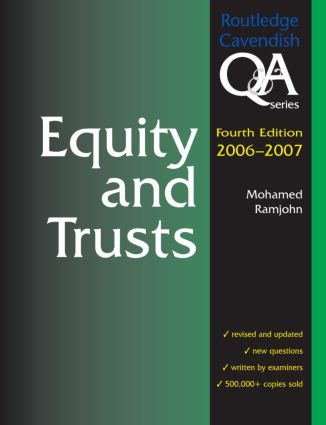 Equity & Trusts Q&A 2006-2007 book cover