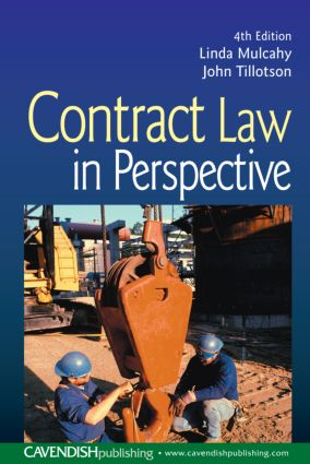 Contract Law in Perspective book cover