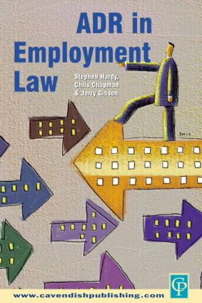 ADR in Employment Law book cover