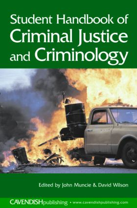 Student Handbook of Criminal Justice and Criminology: 1st Edition (Paperback) book cover