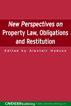 New Perspectives on Property Law: Obligations and Restitution (Paperback) book cover