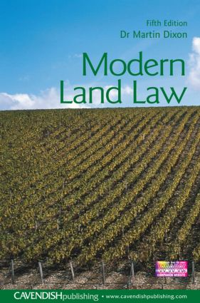 Modern Land Law book cover
