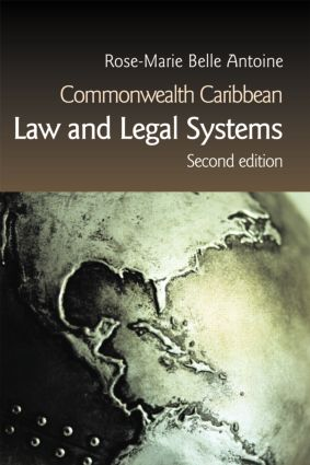 Commonwealth Caribbean Law and Legal Systems book cover
