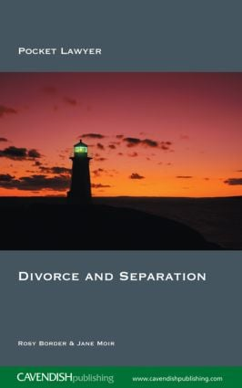 Divorce and Separation: 2nd Edition (Paperback) book cover