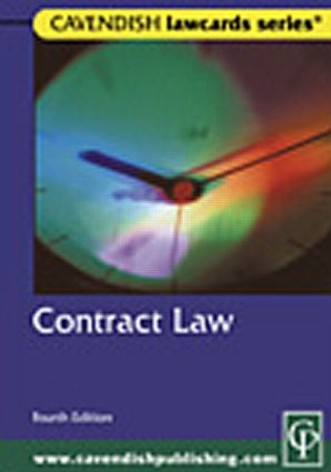 Cavendish: Contract Lawcards