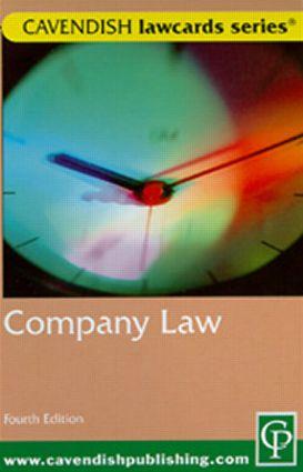 Cavendish: Company Lawcards
