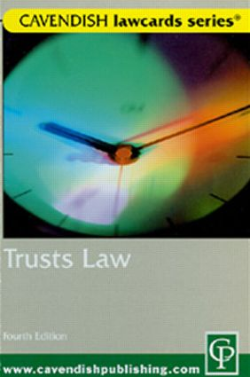 Cavendish: Trusts Lawcards 4/e