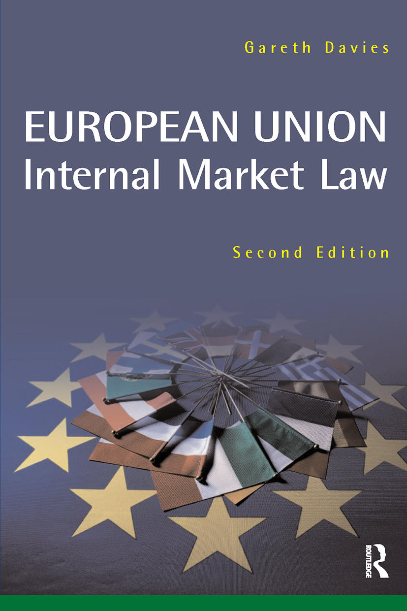 European Union Internal Market: 2nd Edition (Paperback) book cover
