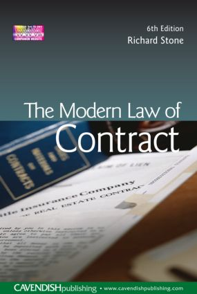 The Modern Law of Contract (Paperback) book cover