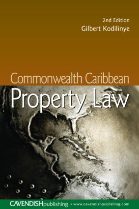 Commonwealth Caribbean Property Law book cover
