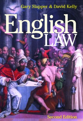 English Law: 2nd Edition (Paperback) book cover
