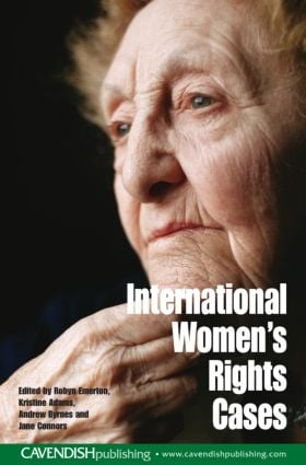 International Women's Rights Cases: 1st Edition (Paperback) book cover