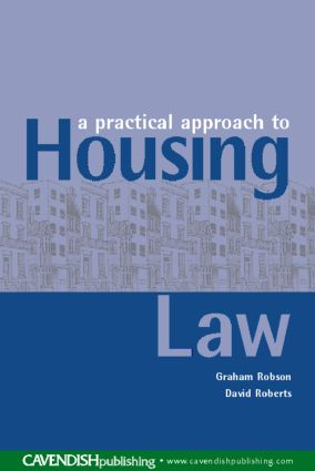 A Practical Approach to Housing Law (Paperback) book cover