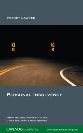 Personal Insolvency: 1st Edition (Paperback) book cover