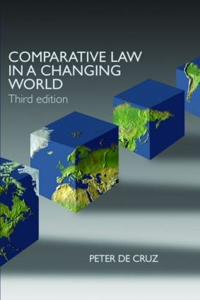Comparative Law in a Changing World: 3rd Edition (Paperback) book cover