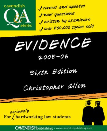 Evidence Q&A 2005-2006 book cover