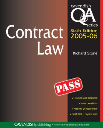 Contract Law Q&A 2005-2006 book cover