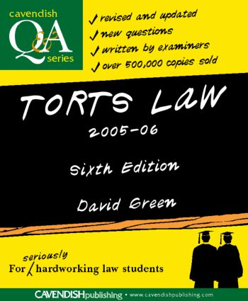 Torts Law Q&A 2005-2006 book cover