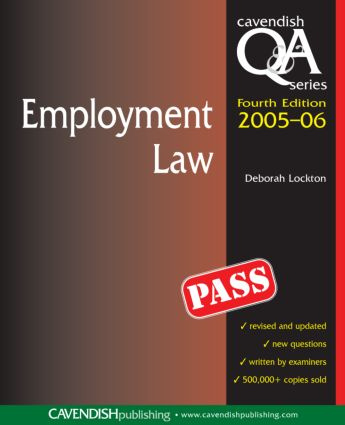 Employment Law Q&A book cover