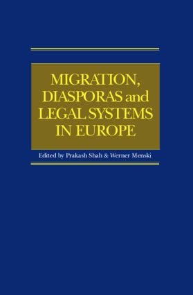 Migration, Diasporas and Legal Systems in Europe: 1st Edition (Hardback) book cover