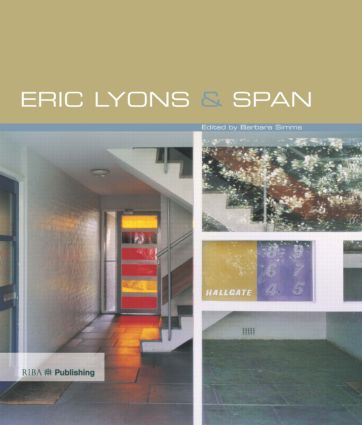 Eric Lyons and Span (Hardback) book cover
